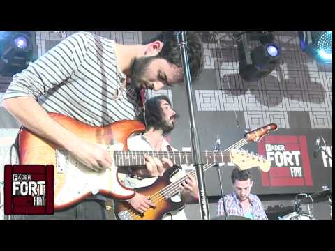 "Young The Giant, ""Guns Out""  Live At The FADER FORT"