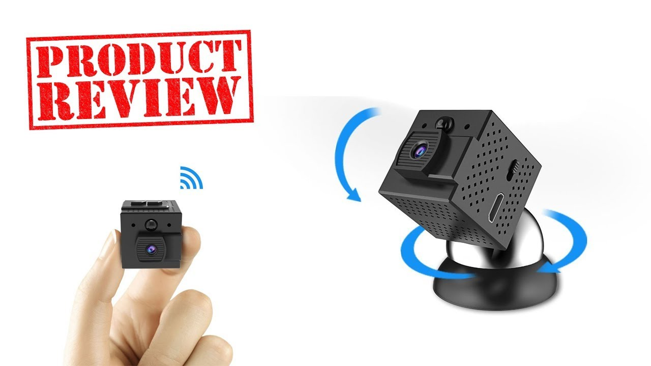Conbrov WF98 Mini Wifi Spy Camera - Unboxing & Review