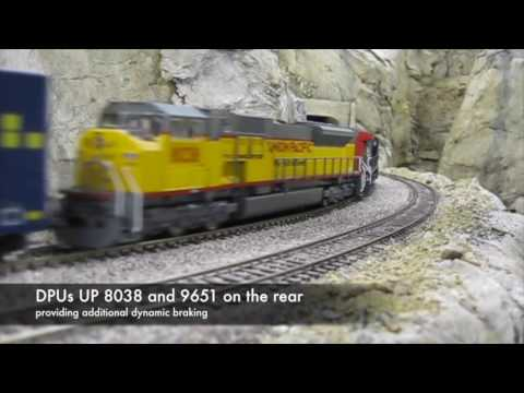 Westbound Union Pacific manifest trains - 4 September 2016