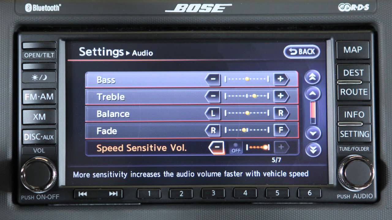2012 nissan altima audio system with navigation