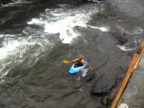Video of a trick on the Nantahala River