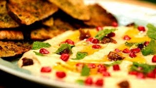 Smoky Eggplant Dip With Pita Chips - Melissa Clark Cooking | The New York Times