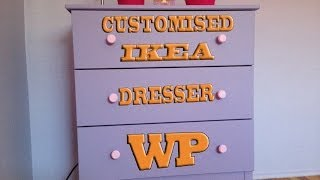 Customised Ikea Dresser (tarva)