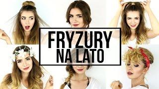 FRYZURY NA LATO 2016 | TOP 6 | ŁATWE SZYBKIE MODNE | CheersMyHeels