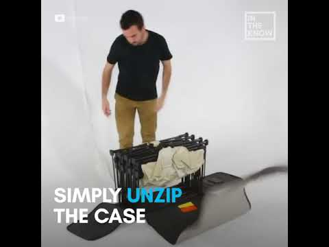 Self Building Bed Inflates In Two Minutes