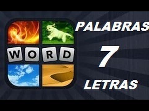 Soluciones de 7 Letras - Niveles 1 a 859 - 4 Fotos 1 Palabra. Ver descripción! Android, iPhone, iOS