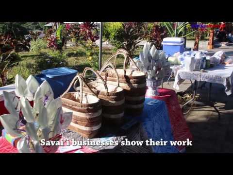 Savai'i businesses show their work
