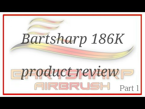 Unboxing Airbrush Kit 186 Dual Action Gravity Feed Airbrush