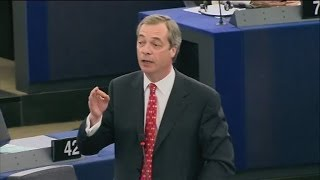 Nigel Farage: The European Dream is Crumbling