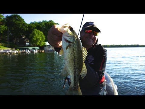 Bass Fishing City Lakes in East Troy - Larry Smith Outdoors