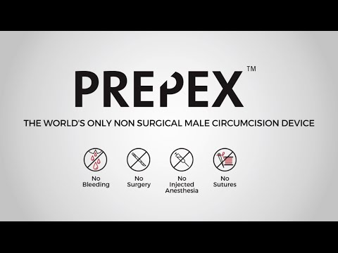 PrePex Non-Surgical Male Circumcision Procedure - 3D Video for adolescent and adult men