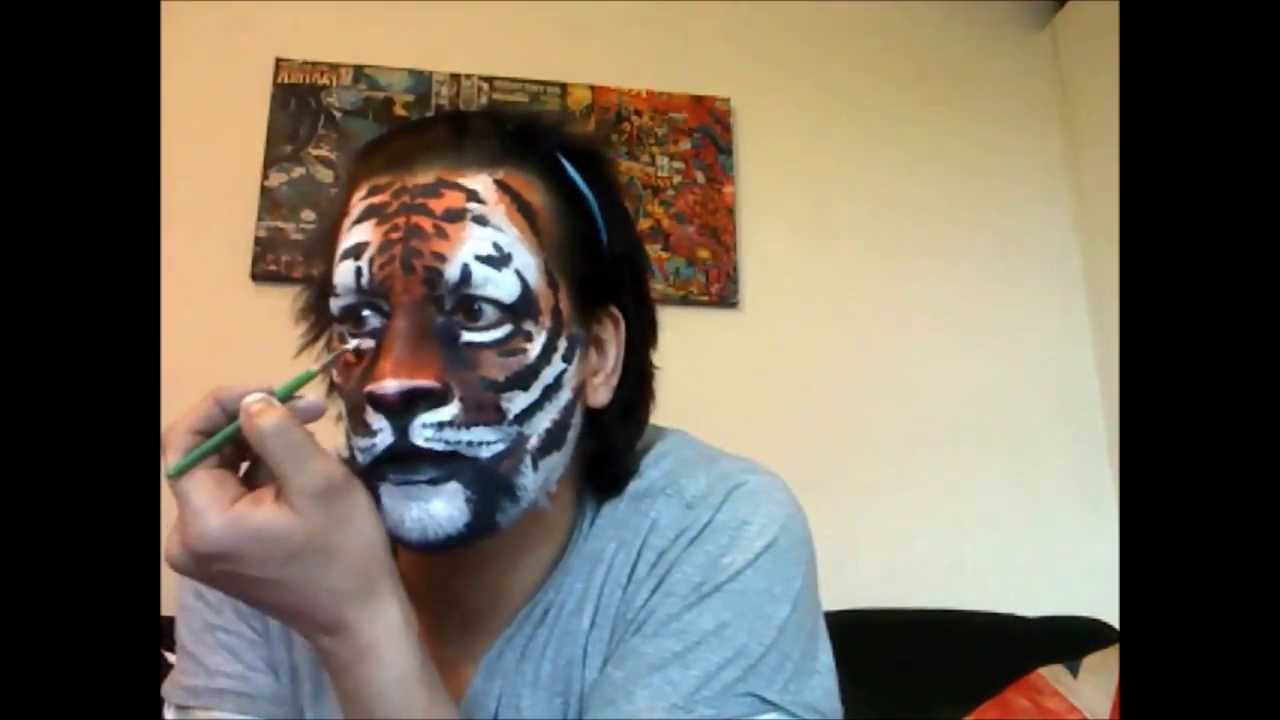 Pics Of Tiger Face Painting