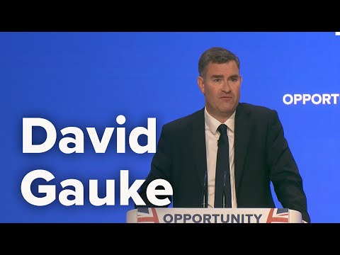 David Gauke, Lord Chancellor and Secretary of State for Justice - Conservative Party Conference 2018