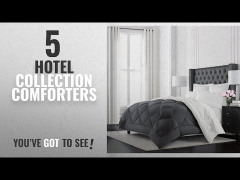 Top 10 Hotel Collection Comforters [2018]: Beckham Hotel Collection Goose Down Alternative