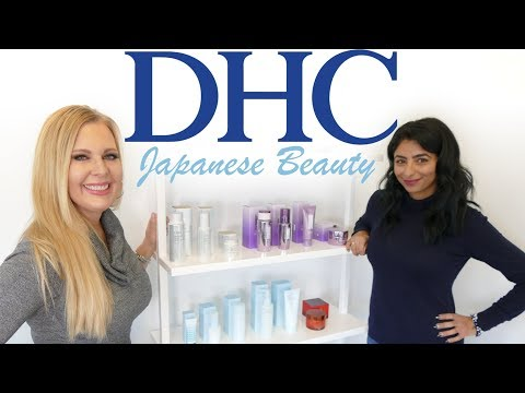 DHC Skincare   Q&A with Amanne Sharif   Japanese Beauty