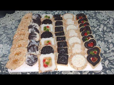 حلويات عيد الفطر 2020 صابلي بريستيج بعجينة إقتصادية واحدة تخرجي أشكال كتيرة