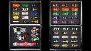 仮面ライダー ドライブ ドライバー&シフトカーホルダーケース シフトカー19個収納+シフトカーケース 30個収納 Kamen Rider Drive Driver Case thumbnail