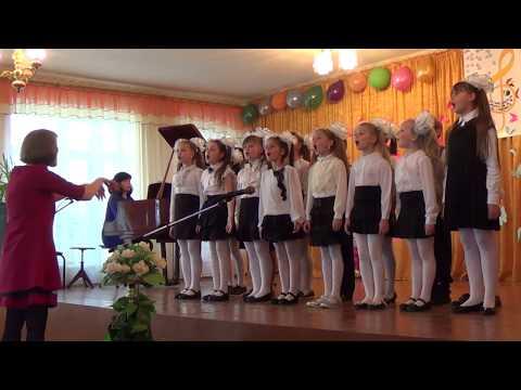 """Младший хор ДШИ №4.  """"Без друзей никак нельзя"""". Руководитель В.В.Перерва, концертмейстер И.А.Гурина"""