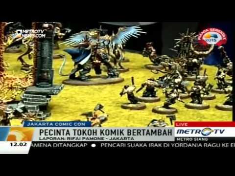 Indonesia sculptor republic jakarta comic con 2015 @ metro siang news