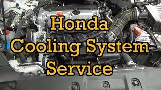 Honda Cooling System Service/Fluid Change