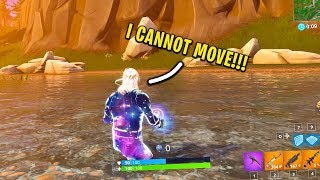 I literally FROZE in Fortnite... (Horrible Glitch)