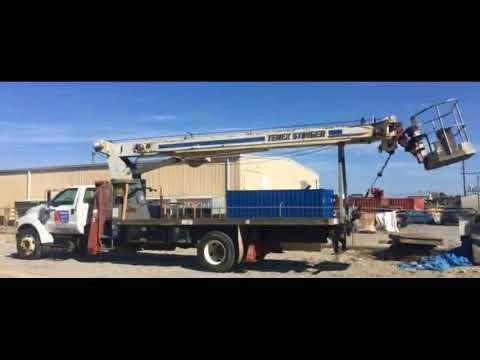 FOR SALE 2003 Ford F750 Crane Bucket IN BATON ROUGE LA 70895