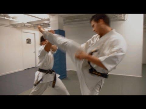 "Karate vs. Karate Kyokushin & Traditional - ""Graduation"" (Eric Jacobus)"