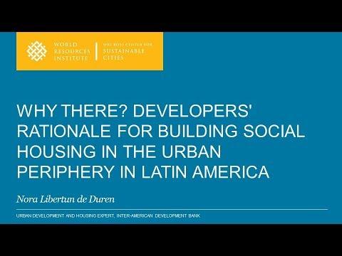 Social Housing in Latin America - Seminar by Nora Libertun de Duren