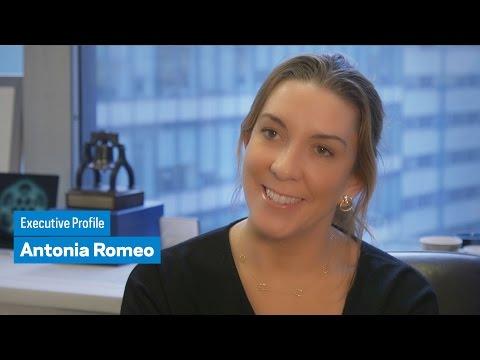 Executive Profile: Antonia Romeo