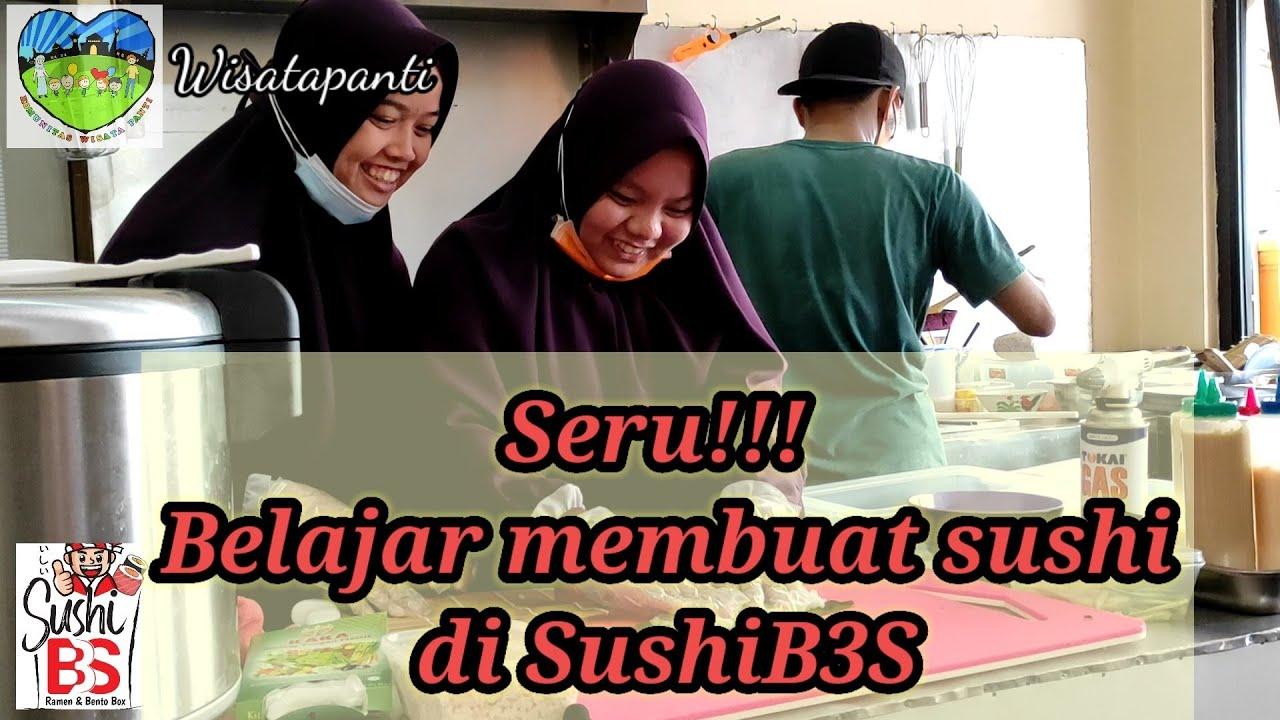 Sedekah Kreatif Bersama Resto SushiB3S
