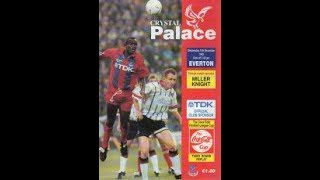10/11/1993 Crystal Palace vs Everton