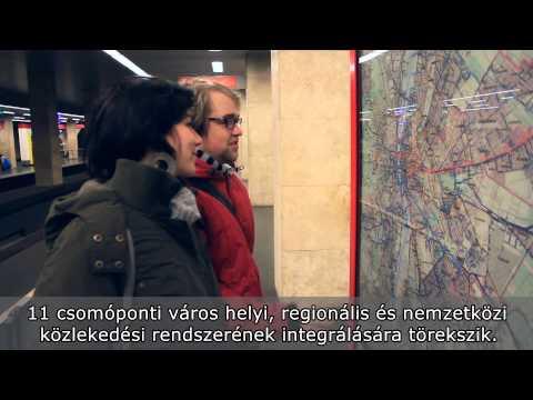 Rail4SEE Budapest hub magyar felirattal (HUN. subtitles)