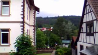 Hubschrauber in Grasellenbach