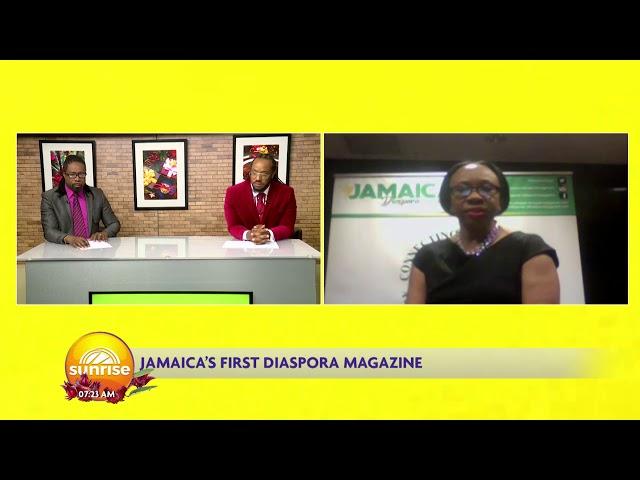 Jamaica's First Diaspora Magazine | Sunrise  | CVMTV