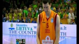Македонија - Литванија 67:65 (zavrsnica) (Makedonija - Litvanija) Eurobasket 2011