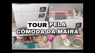 TOUR PELA CÔMODA DA BEBÊ