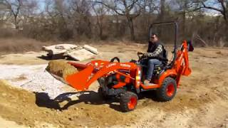 Kubota BX80 Swift-Tach Loader