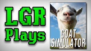 LGR Plays - Goat Simulator