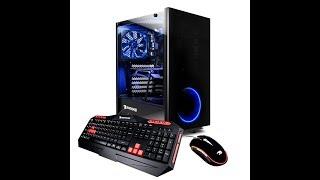 iBUYPOWER Elite Gaming PC Desktop AMD Ryzen 7 AMD Radeon RX 580