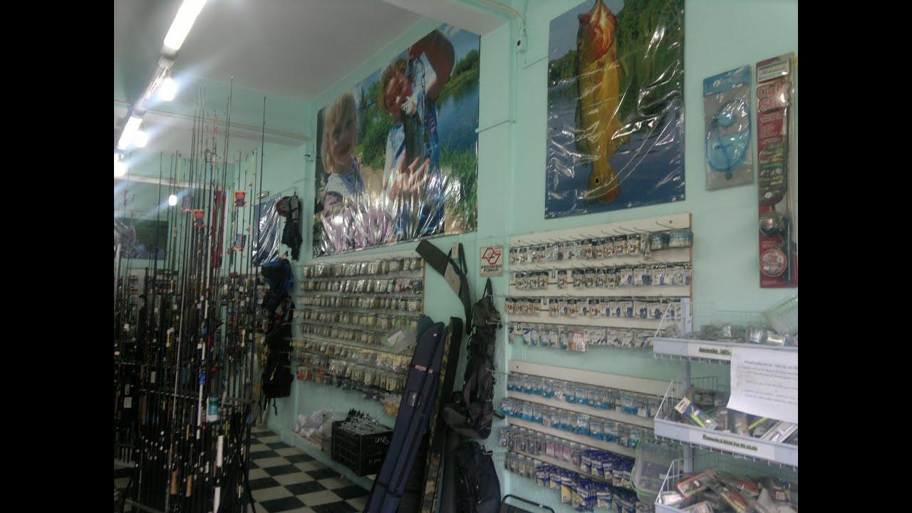 Aparador De Ferro Com Vidro ~ Sua loja de Pesca no zona Oeste YouTube