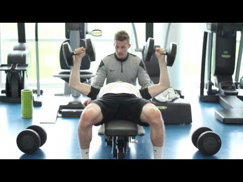 Power boosting gym workout | Nike Academy