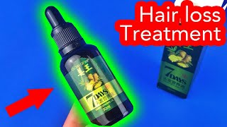 ✅ Hair Loss Treatment 7 Days from AliExpress just unboxing