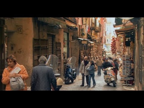 Naples, Italy: Street Life and Vesuvius
