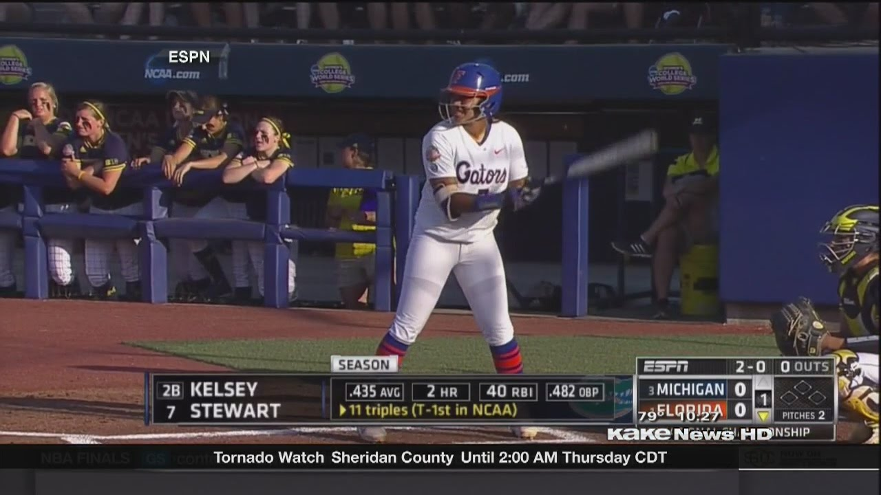 Gators great Kelsey Stewart hits game-winning homer for USA ...