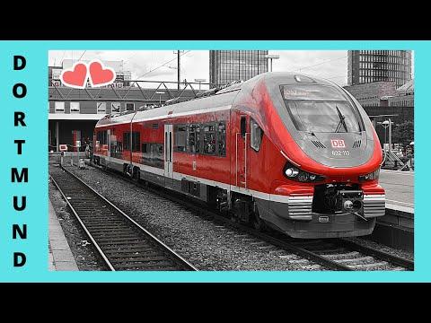 DORTMUND, the modern METRO (underground/subway),  GERMANY