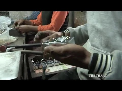 LOCK AND KEY  Aligarh famous lock  Aligarh lock factory Video  video by the thaat