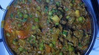 Keema Matar Minced Beef & Peas Curry Recipe