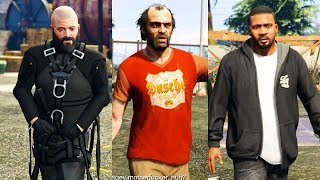 GTA 5 (PS4 60FPS) - Mission #22 - Three's Company