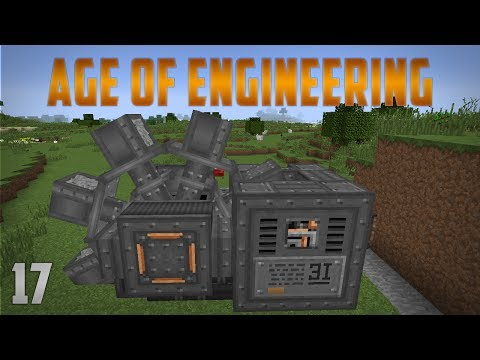 Age of Engineering EP17 Excavator - Uranium Vein