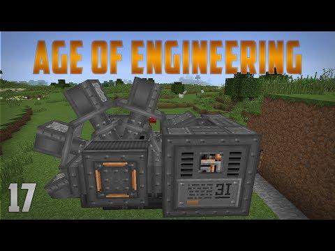 Age of Engineering EP17 Excavator - Uranium Vein